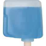 oxalis foam blu con antibatterico