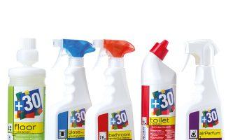 linea completa detergenti professionali
