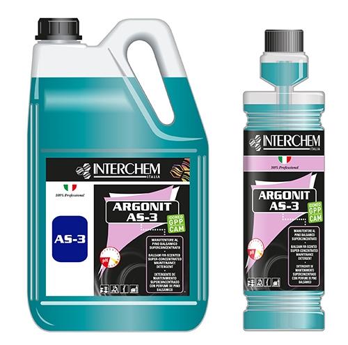 argonit as 3 detergente per pavimenti al pino balsamico