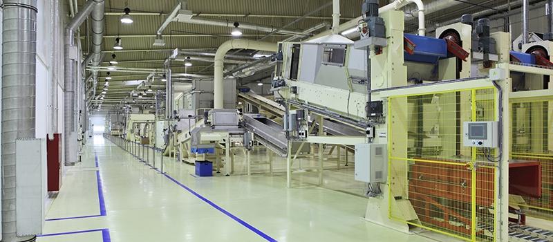 Industrial space – conveyor line